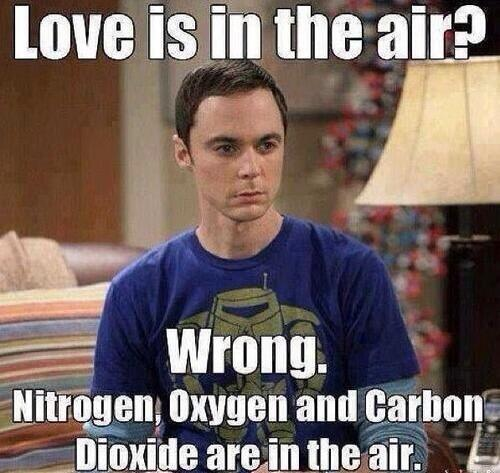 Big bang theory, Sheldon Cooper, Jim Parsons, Valentine's Day, Single